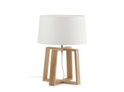 BLISS White table lamp Faro