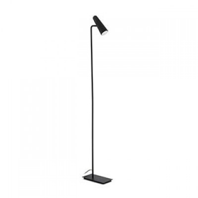 LAO LED Black floor lamp Faro