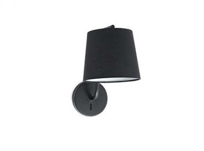 BERNI Black wall lamp Faro