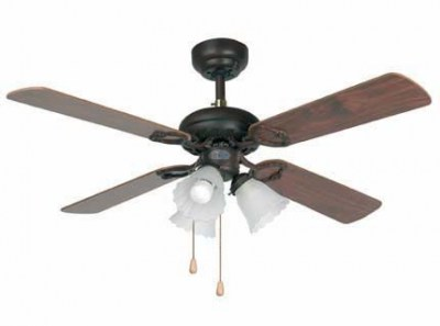 LISBOA Brown ceiling fan Faro