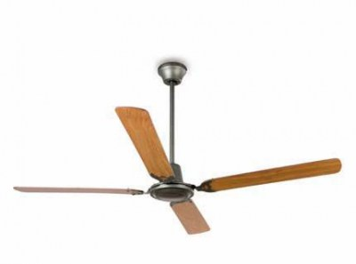 MALVINAS Grey ceiling fan Faro