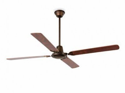 MALVINAS Dark brown ceiling fan Faro
