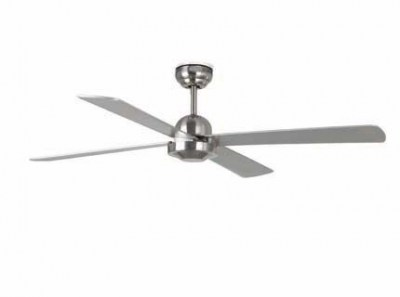 IBIZA Matt nickel ceiling fan Faro