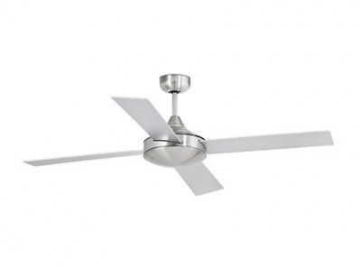 MALLORCA Matt nickel ceiling fan Faro