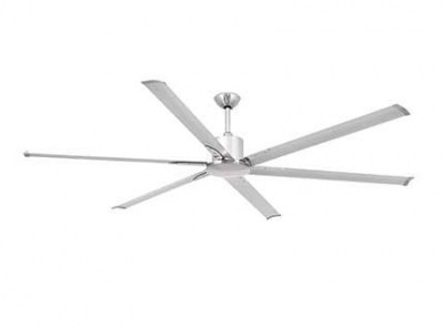 ANDROS Anodized grey ceiling fan Faro