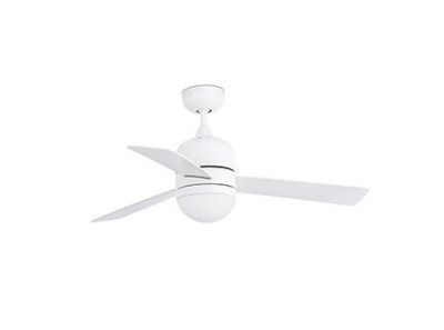 CEBU White ceiling fan Faro