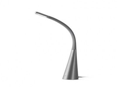 GRETA LED Grey office reading lamp Faro