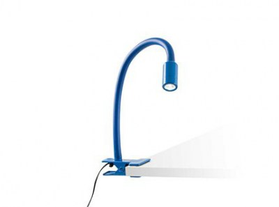 NUKA LED blue clip lamp Faro