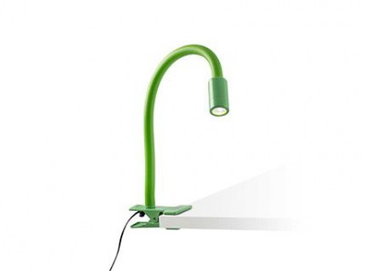 NUKA LED green clip lamp Faro