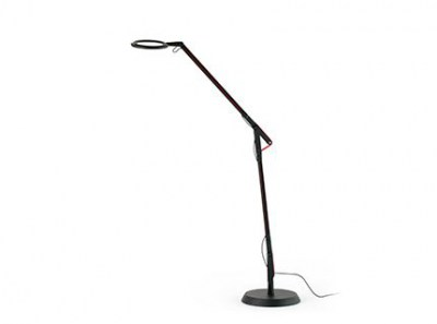 HALO Black floor lamp Faro