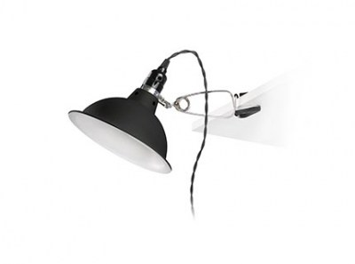 PEPPER Black clip lamp Faro