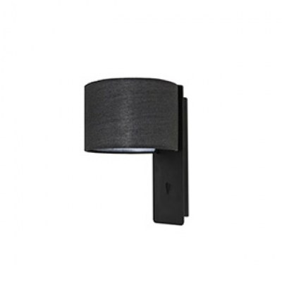 FOLD Black wall lamp Faro