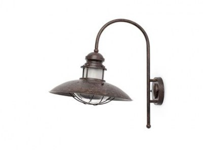 WINCH Brown wall lamp h.460 mm Faro