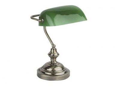 BANKER Old Gold table lamp Faro
