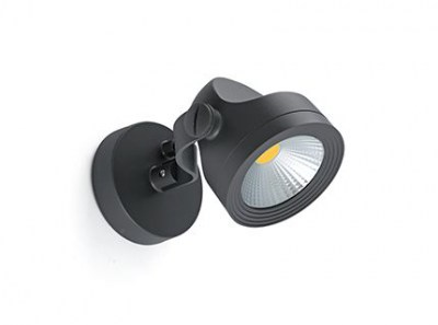 ALFA LED Dark grey projector lamp Faro