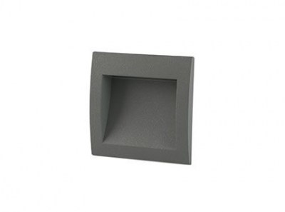SEDNA-1 LED Dark grey recessed lamp Faro