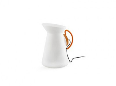 JARRETT Orange portable lamp Faro