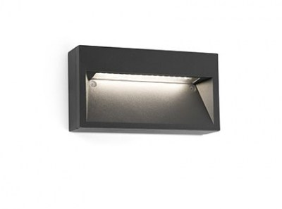 PATH LED Dark grey wall lamp Faro