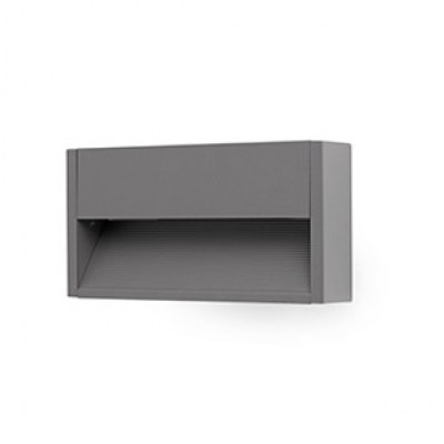 GRADA-2 LED Dark grey wall lamp Faro