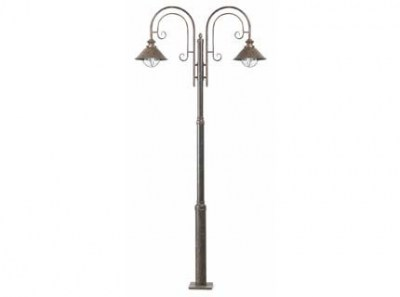 NÁUTICA Rust pole lamp 2L Faro