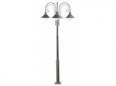 NÁUTICA Rust pole lamp 3L Faro
