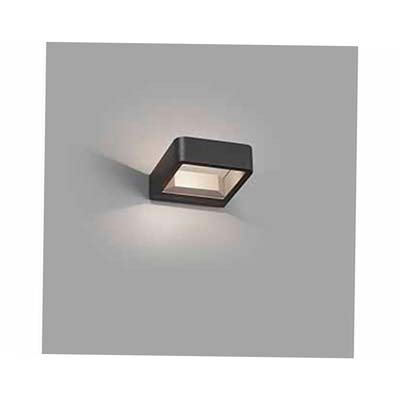 AXEL LED Dark grey wall lamp Faro