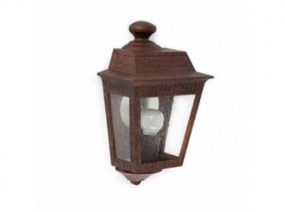 ARGOT Rust 1/2 wall lamp Faro