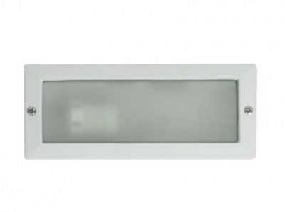 LISO White recessed lamp Faro