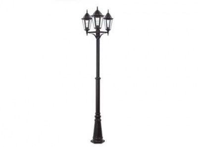 PARIS Black pole lamp 3L Faro